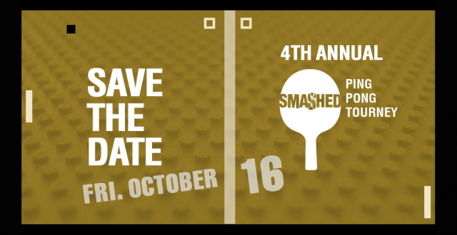 SMASHED Charity Ping Pong event, Lifeline, Lifetime Developments