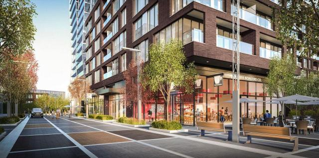 Riverside Square, Toronto, by Streetcar Developments, RAW Design