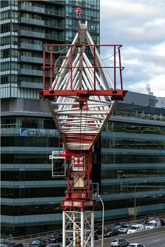 Tower Crane New York : Photo of the day tower crane jib urban toronto