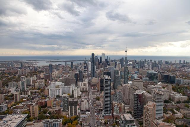 Views from One Bloor East, Toronto, by Great Gulf, Hariri Pontarini Architects