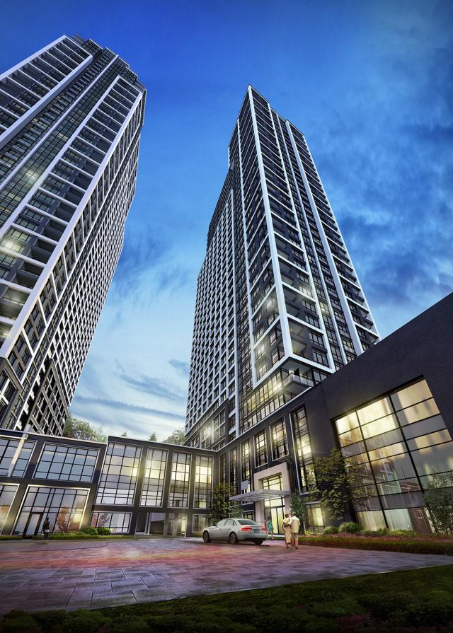 BLOORVISTA, Islington Terrace, Toronto, by Tridel, Kirkor Architects Planners