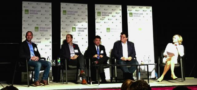 Urban Land Institute, Toronto Symposium 2015, Disruptive Technologies Panel