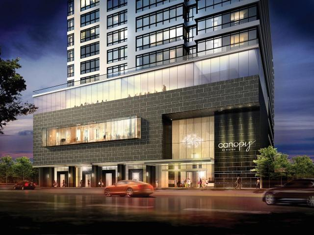The Rosedale on Bloor, Toronto, by the Gupta Group, Page + Steele/IBI