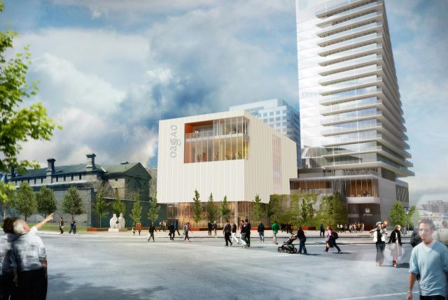 Concept plan, Ottawa Arts Court Redevelopment, by KPMB Architects