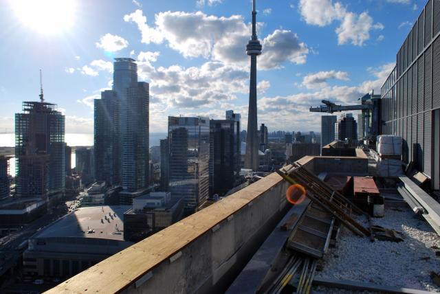 Looking west from the roof of Backstage, image by Marcus Mitanis
