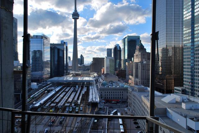 Western view towards Union Station, image by Marcus Mitanis