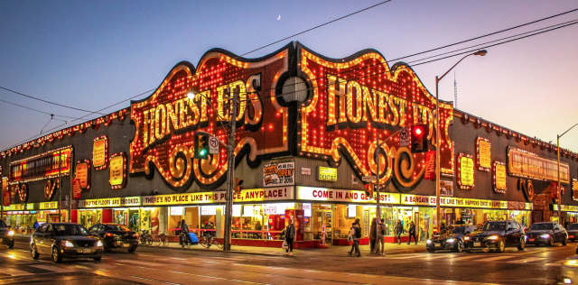 Photo of the Day, Toronto, Honest Ed's, Bathurst and Bloor