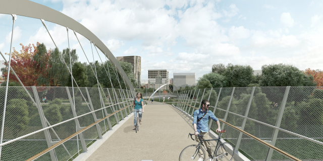 Fort York Pedestrian and Cycle Bridge,  Dufferin Construction Company, MMM Group
