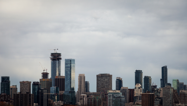 A view of one of Toronto's growing clusters of towers, image by Jack Landau