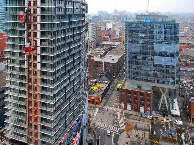 Tableau and QRC West, Picasso Condos, Monarch, Mattamy, Goldman, Teeple
