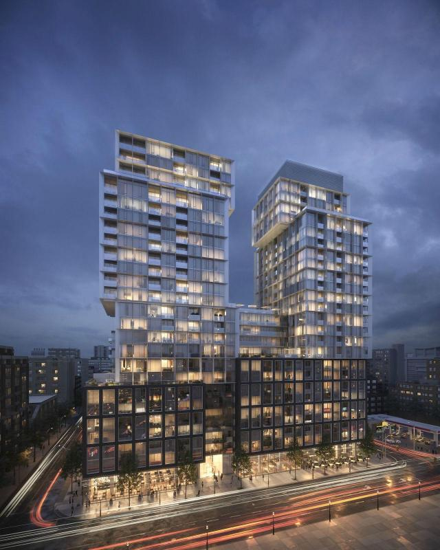 158 Front Condominium, Toronto, by Citizen, Fernbrook, architectsAlliance