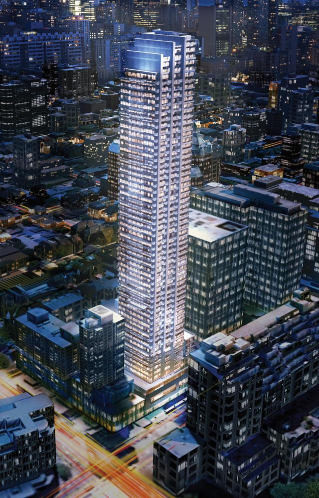 Rosedale on Bloor, Toronto, by The Gupta Group, Page + Steele / IBI Group