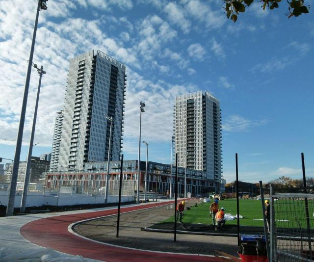 Regent Park Athletic Grounds, City of Toronto, The Daniels Corporation, MLSE