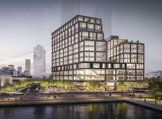 Rendering of Daniels Waterfront - City of the Arts, image courtesy of The Daniel