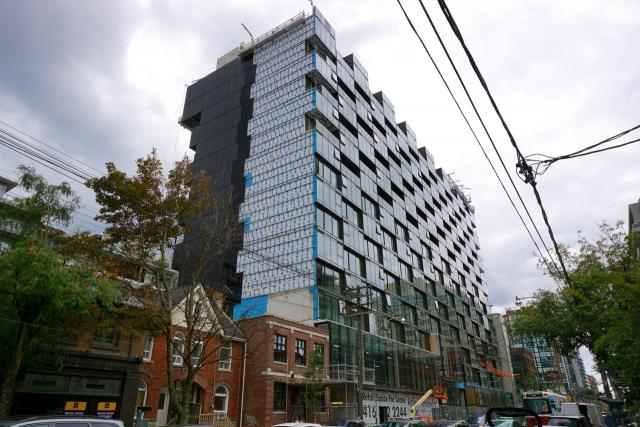 Thompson Residences, Toronto, by Freed, Saucier + Perrotte