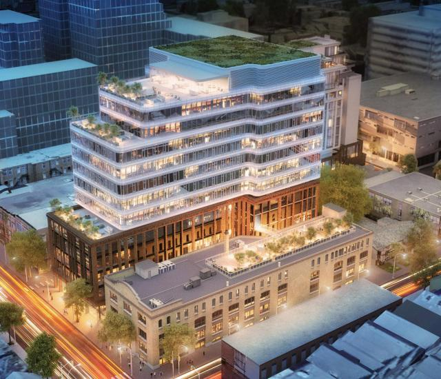 King Portland Centre, Toronto, by Allied REIT, RioCan, Hariri Pontarini