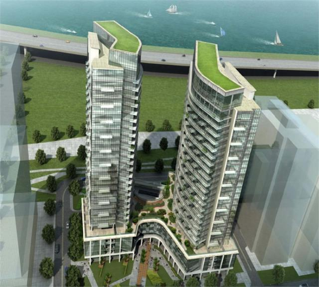 Liberty Central by the Lake, Toronto, by CanAlfa, IBI Group
