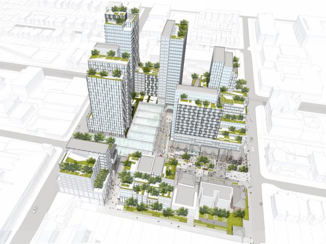 Westbank's proposed redevelopment of the Mirvish Village and Honest's Ed site