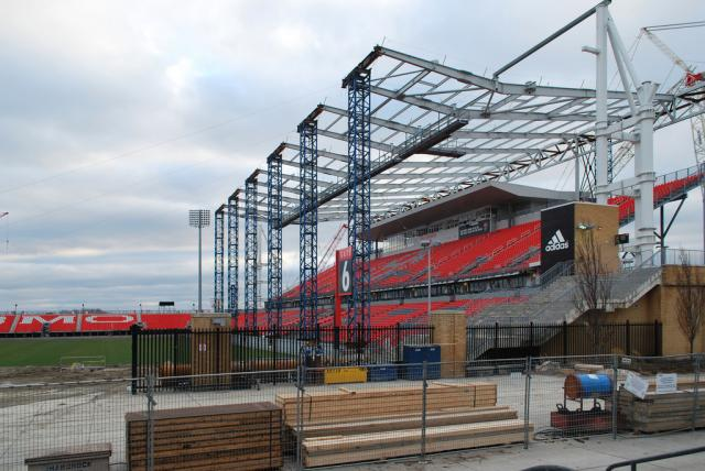 Exhibition Stand Builders North West : Bmo field renovations progressing at exhibition place