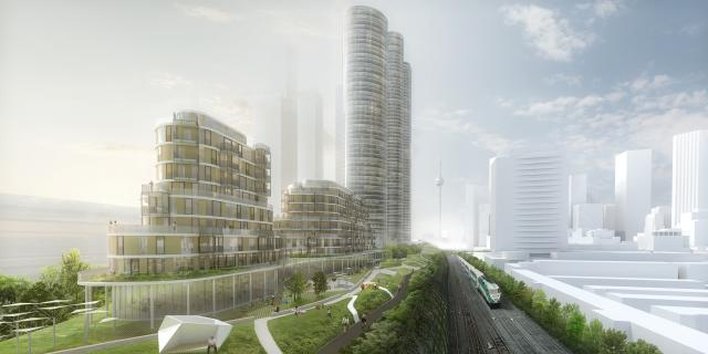 Green Gardiner Plan by Brook McIlroy, SvN, and Intuitive, Toronto