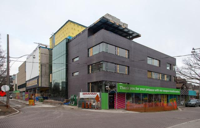 Greenwood College School Expansion, Montgomery Sisam Architects, Toronto