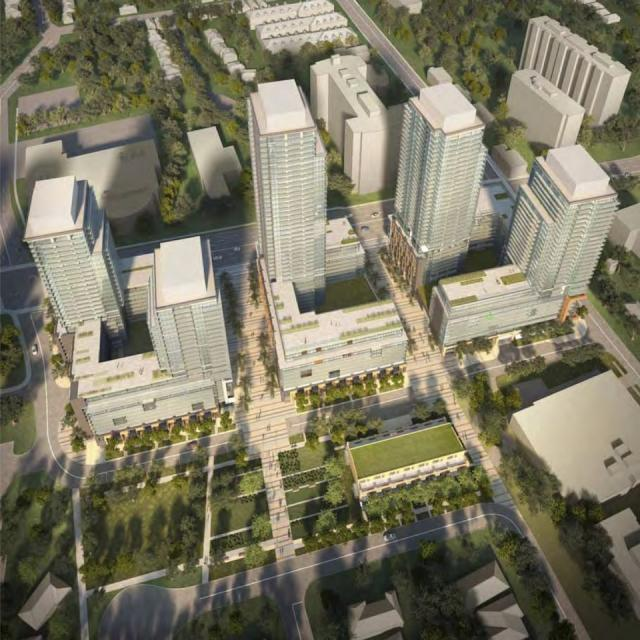 Newtonbrook Plaza Redevelopment, Silvercore Properties, Wallman Architects