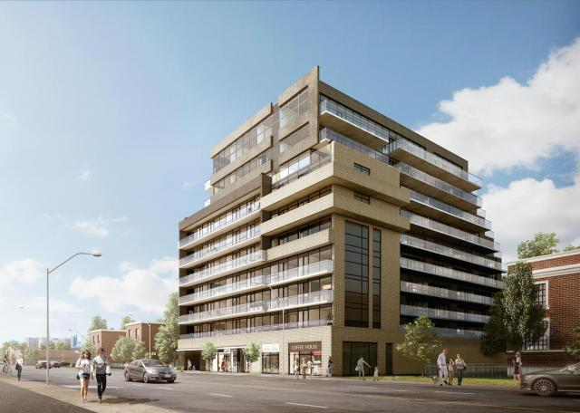 On The Danforth, Diam Developments, onespace, esQape design, Toronto