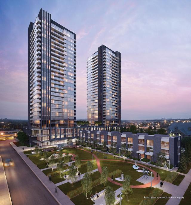 Sonic Condos, Toronto, by Lindvest Properties, Page + Steele / IBI Group