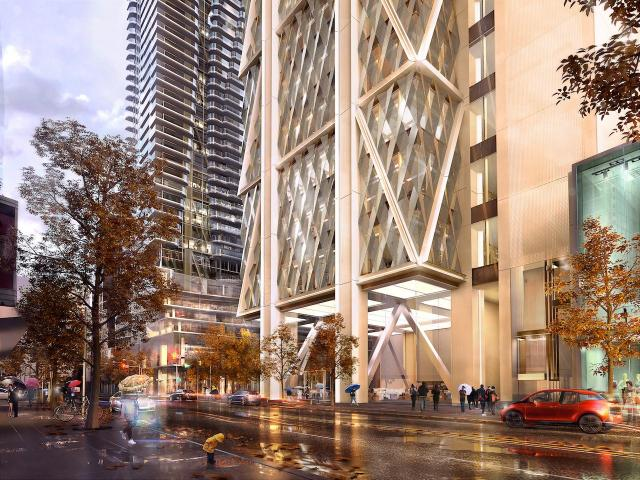The One, Toronto, by Mizrahi Developments, Foster + Partners, Core Architects