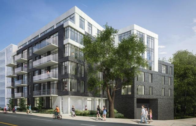 The Southwood, Toronto, by Streetcar Developments, TACT Architecture