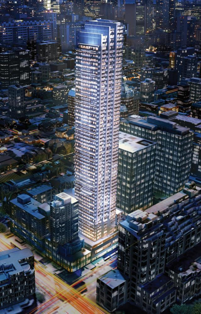 The Rosedale on Bloor, Gupta Group, Page+Steele/IBI Group Architects