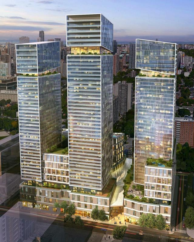 245 Queen St East, WAM Development Group, Aquitectonica
