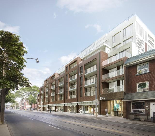 1331 Queen Street East, Rockport Group, RAW Design, Toronto
