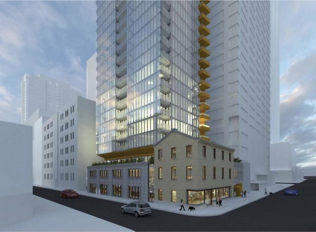 771 Yonge Street, designed by Wallman Architects for Menkes Developments
