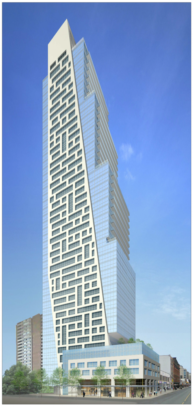 625-37 Yonge, YI Developments, Page + Steele/IBI Group Architects