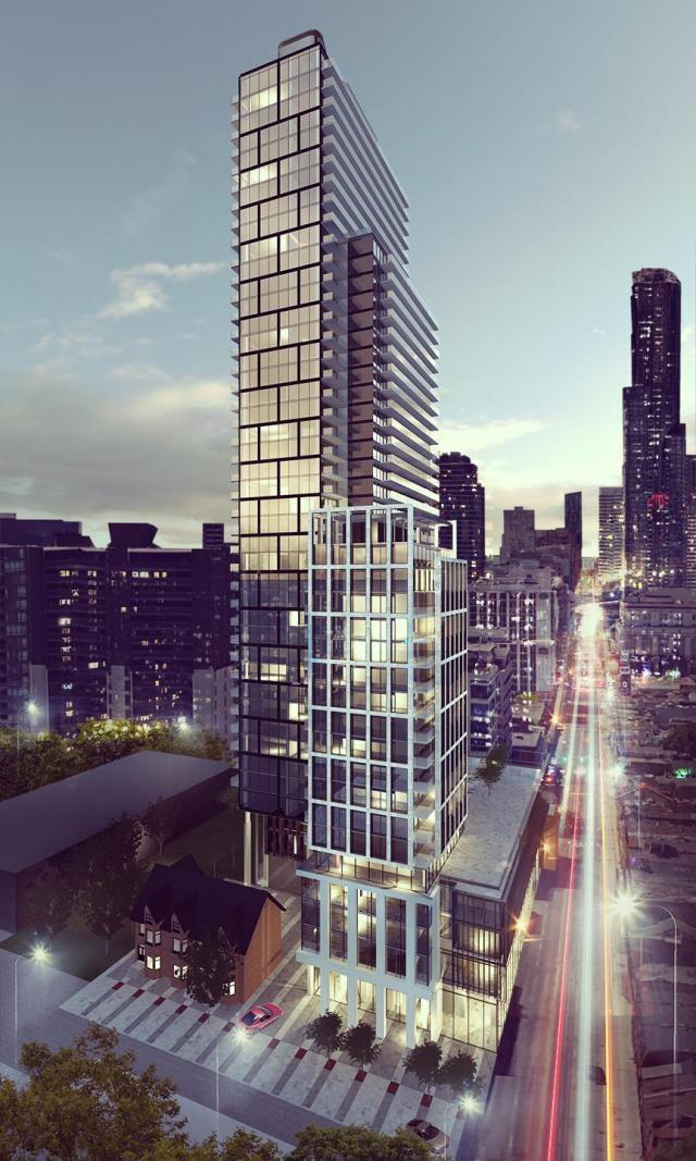 Clover on Yonge, Cresford Developments, architectsAlliance