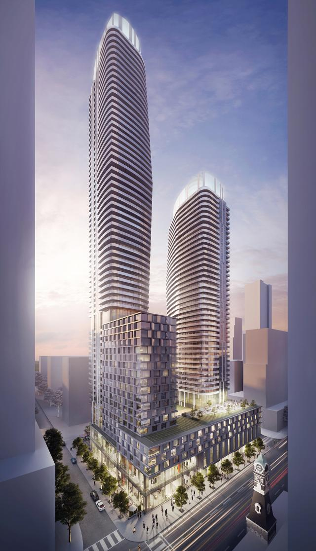 475 Yonge Street redevelopment, Toronto, KingSett Capital, Courtyard Marriott