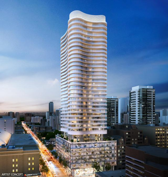 Stanley Condominiums, Toronto, by Tribute Communities, Core Architects