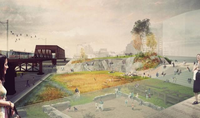 Mouth of the Creek Park, Public Work, ERA Architects, City of Toronto, Toronto