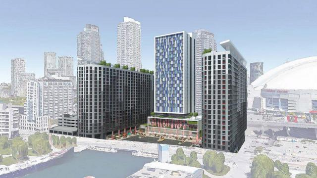 Maple Leaf Quay, Retirement Concepts, Quadrangle Architects, Toronto