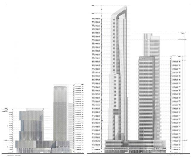 Pinnacle International, Hariri Pontarini Architects, 1-7 Yonge, Toronto