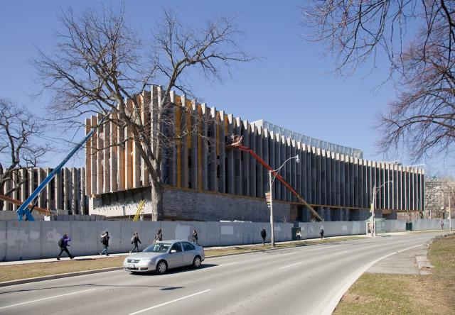Jackman Law Expansion, Hariri Pontarini Architects, B+H, U of T