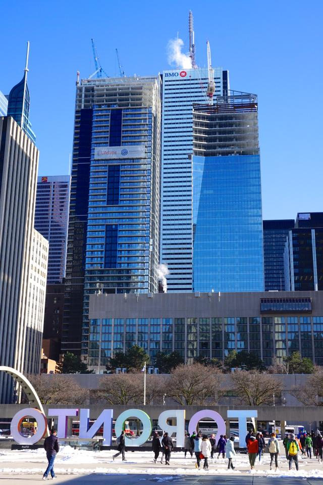 INDX Condos and the EY Tower are entering the latter stages of construction in t