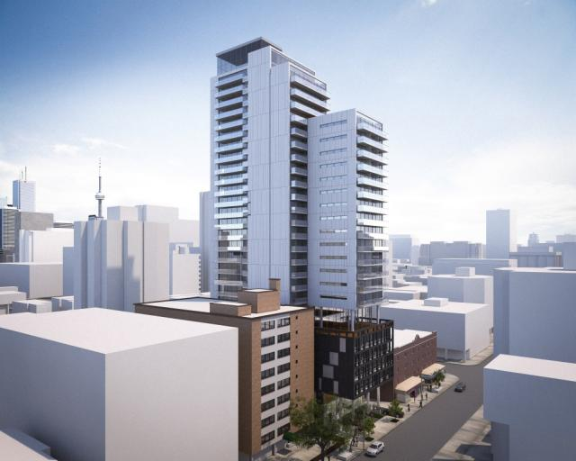 Eighty One Wellesley, Toronto, by Aragon, Core Architects