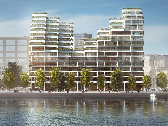 3XN at Bayside, Toronto, by Tridel, Hines, 3XN