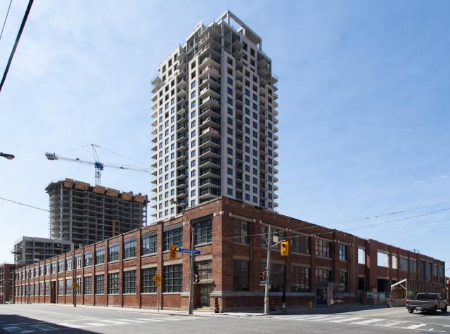 Fuse and Fuse 2 Condos, Neudorfer, Barrett Architect, Burka Architects