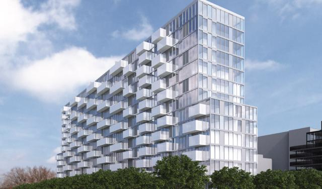 Rocket Condos, Toronto, by Metropia, SMV Architects