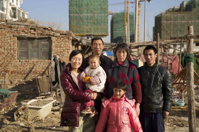 a farming family holds out against urbanization on Beijing's edges