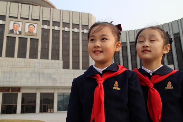 A propaganda film offers behind-the-scenes look at Pyongyang in Under The Sun