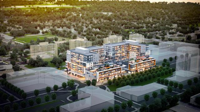 Central Park Ajax, LeMine Investment Group, Kirkor Architects